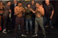 Церемония взвешивания участников турнира UFC Fight Night 149 Санкт-Петербург
