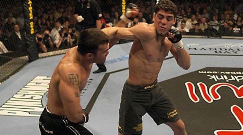 Видео боя Робби Лоулер – Ник Диас UFC 47 It's On