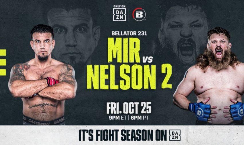 Прямая трансляция Bellator 231: Фрэнк Мир - Рой Нельсон 2