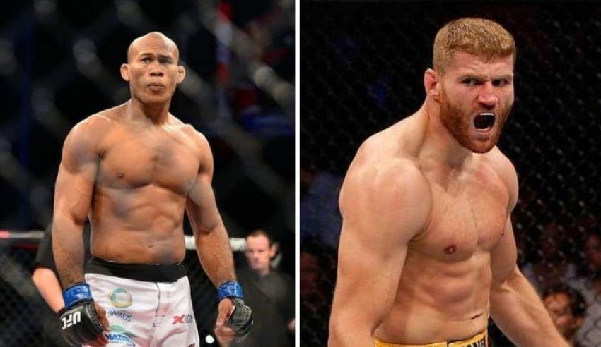 Прогнозы бойцов MMA на бой Роналдо Соуза - Ян Блахович на UFC Fight Night 164