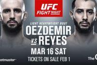 Видео боя Доминик Рейес - Волкан Оздемир UFC Fight Night 147