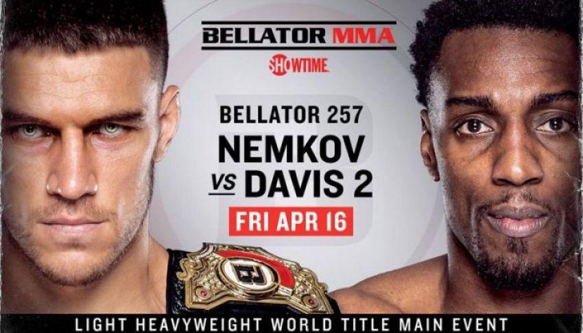 Bellator 257. Смотреть онлайн прямой эфир