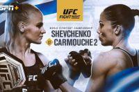 Букмекерские ставки на UFC Fight Night 156: Коэффициенты на турнир Валентина Шевченко - Лиз Кармуш
