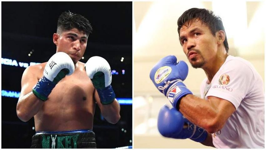 """Mikey Garcia: """"Everyone around Pacquiao is his manager."""