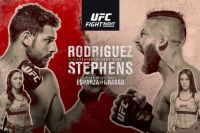 Файткард турнира UFC Fight Night 159: Яир Родригес - Джереми Стивенс