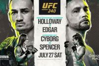 Файткард турнира UFC 240: Макс Холлоуэй - Фрэнки Эдгар