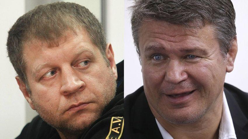 """Емельяненко: """"Тактаров - проститутка. Куда ветер подует - туда он свою задницу и подворачивает"""""""