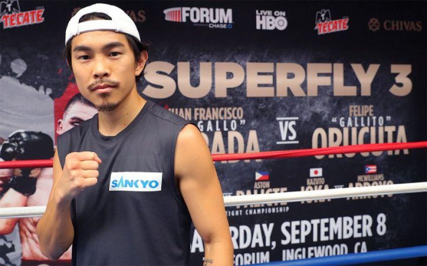 """Кадзуто Иока: """"Выиграть титул в четвертой весовой категории - причина, по которой я вернулся"""""""