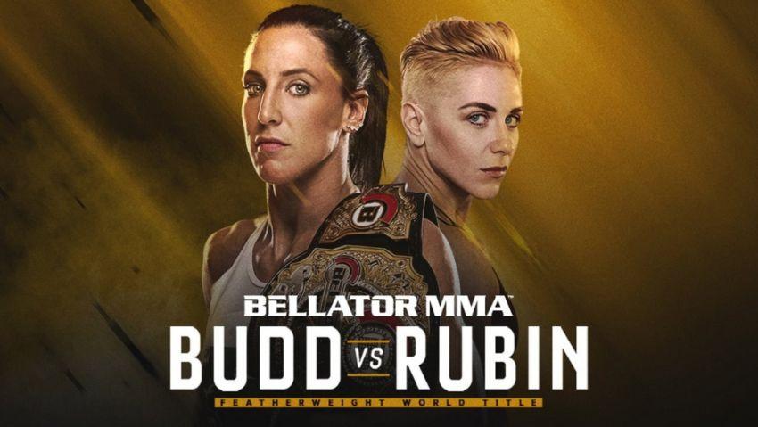Прямая трансляция Bellator 224: Джулия Бадд - Ольга Рубин