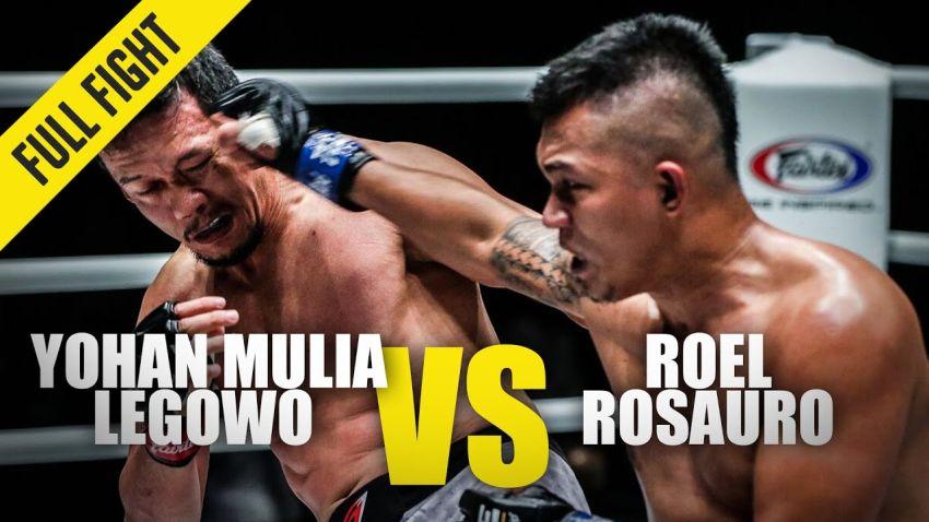 Видео боя Йоан Мулия Легово - Роэль Розауро One Championship A New Tomorrow
