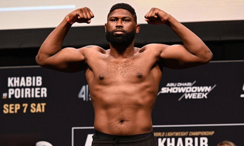 Результаты взвешивания турнира UFC Fight Night 166: Кертис Блэйдс - Джуниор Дос Сантос