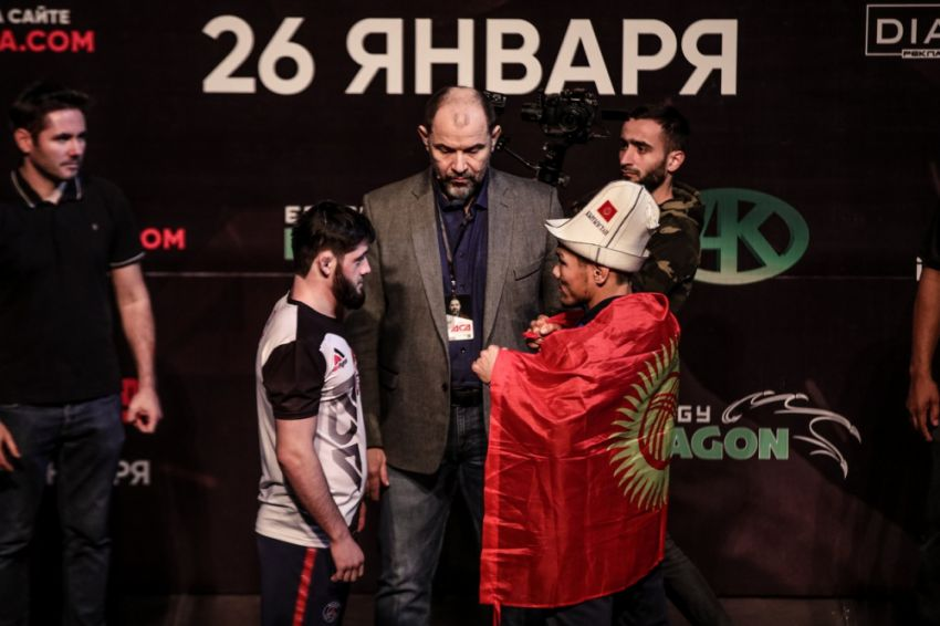 Видео боя Хуйсен Шайхаев - Канат Келдибеков ACA 91