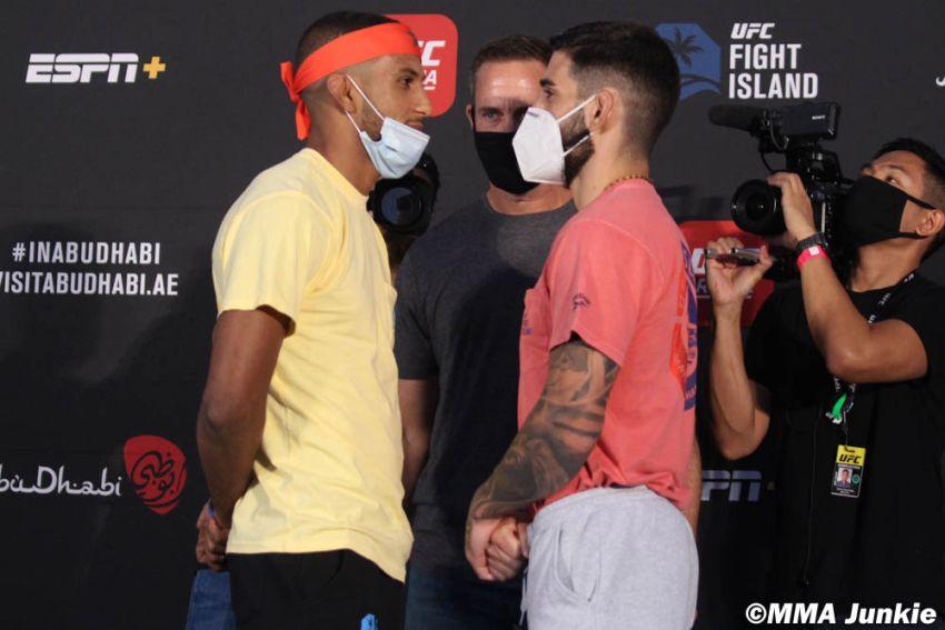 Видео боя Илья Топурия - Юссеф Залал UFC on ESPN+ 37