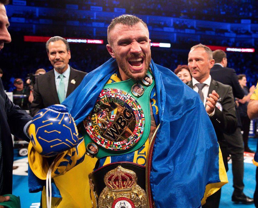 WBA признала Василия Ломаченко лучшим боксером августа
