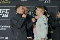 Битва взглядов участников турнира UFC 236: Макс Холлоуэй - Дастин Порье 2