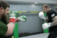 Александр Емельяненко выложил совместную тренировку с Кадыровым