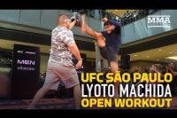Открытая тренировка перед UFC Fight Night 119: Brunson vs. Machida