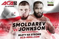 Денис Смолдарев встретится с Тони Джонсоном на турнире ACA в Варшаве