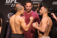 Видео боя Жозе Алдо - Алекс Волкановски UFC 237