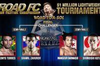 Определился соперник Шамиля Завурова в полуфинале турнира ROAD FC на $1 млн.