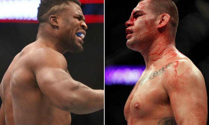 Файткард турнира UFC on ESPN 1: Кейн Веласкес - Фрэнсис Нганну