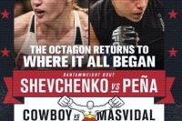РП UFC №2 UFC on Fox: Shevchenko vs. Peña