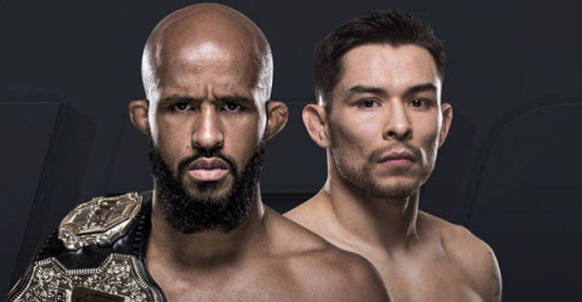 Видео боя Деметриус Джонсон - Рэй Борг UFC 216