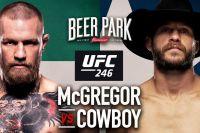 Ставки на UFC 246: Коэффициенты букмекеров на турнир Конор МакГрегор - Дональд Серроне