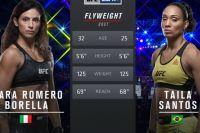Видео боя Мара Борелла - Тайла Сантос UFC Fight Night 144