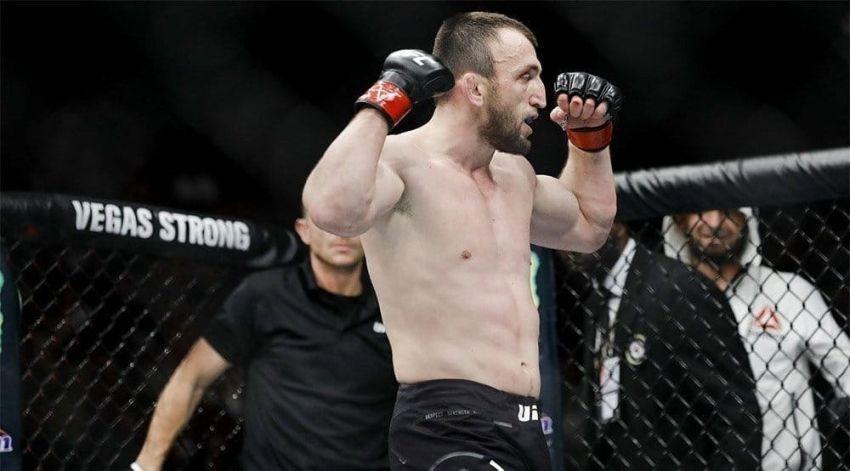 Муслим Салихов одержал уверенную победу над Лауреано Старополи на UFC Fight Night 162
