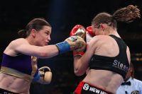 Кэти Тейлор победила Дельфин Персун спорным решением судей в тяжелейшем бою