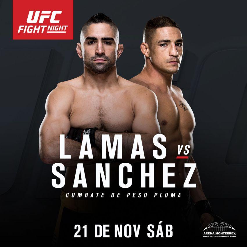 Видео - Рикардо Ламас vs Диего Санчес