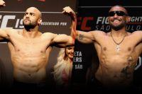 Видео боя Ворли Алвес - Серхио Мораес UFC 237