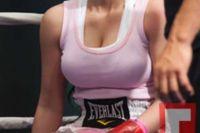 Боксерский вечер с участием Ким Кардашьян. Ким в беде.