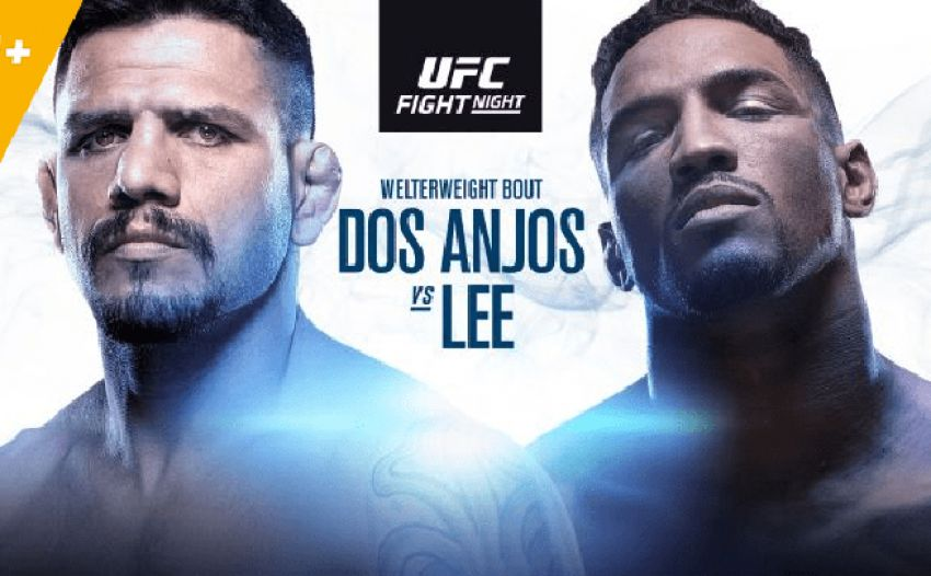 Файткард турнира UFC Fight Night 152: Рафаэль Дос Аньос - Кевин Ли