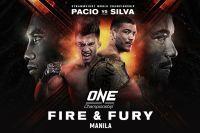 Прямая трансляция ONE Championship Fire & Fury: Джошуа Пасио – Алекс Сильва