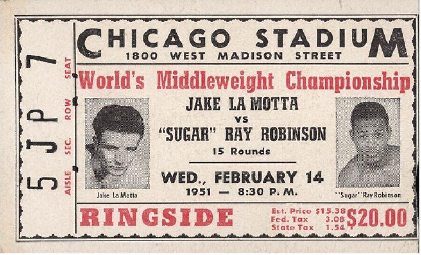 Этот день в истории бокса:  «Бойня в День святого Валентина»