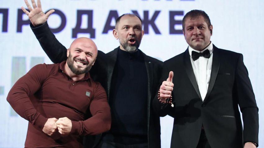 За первую неделю продаж болельщики раскупили 25% билетов на бой Емельяненко - Исмаилов