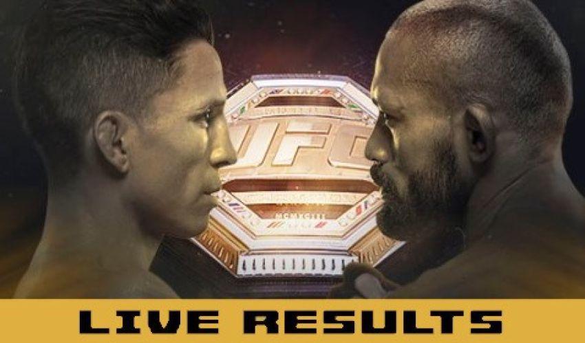 Результаты турнира UFC Fight Night 169: Джозеф Бенавидез - Дейвисон Фигейреду