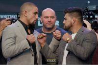 Стердауны хедлайнеров шоу UFC 234: Роберт Уиттакер - Келвин Гастелум