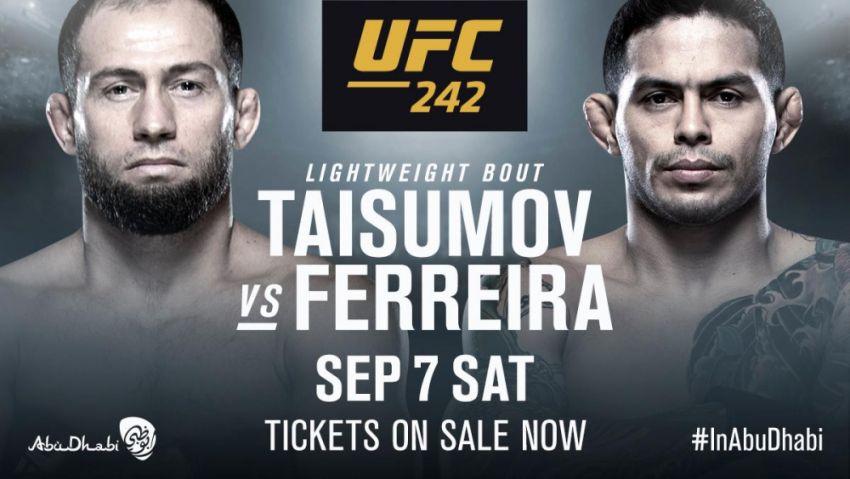 Майрбек Тайсумов - Диего Феррейра на UFC 242 в Абу-Даби
