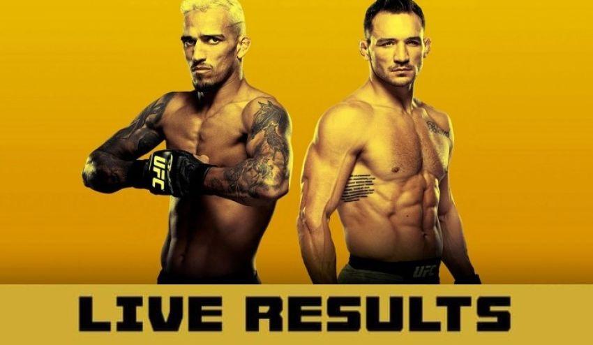 UFC 262 Fightcard