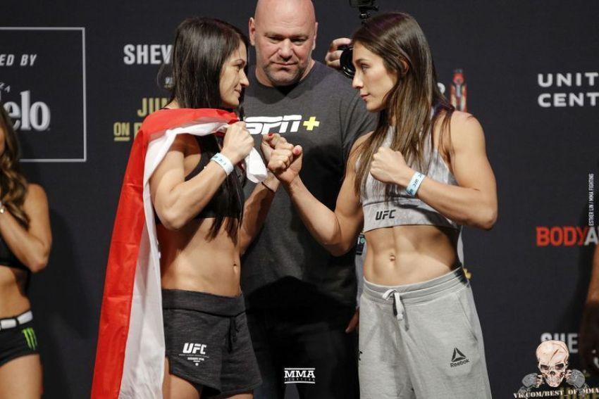 Видео боя Каролина Ковалькевич - Алекса Грассо UFC 238
