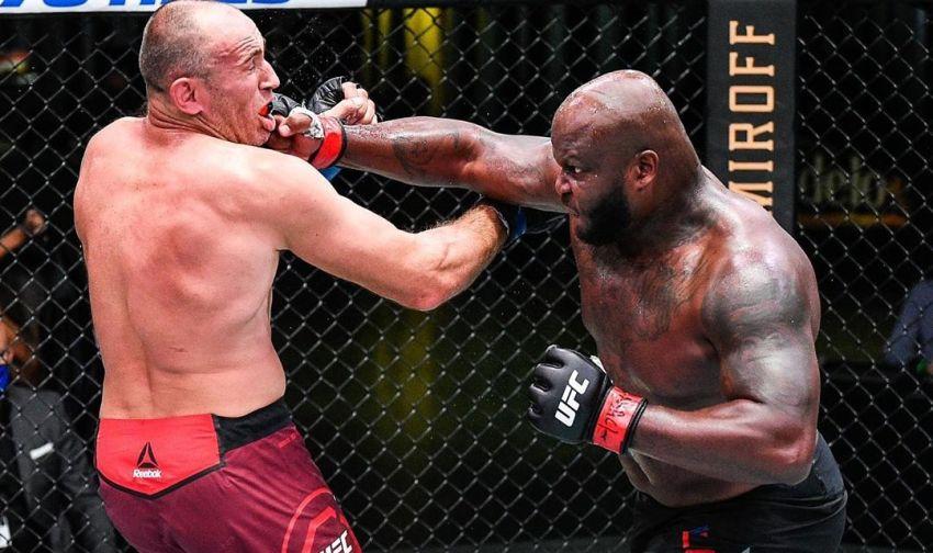 Деррик Льюис досрочно остановил Алексея Олейника на UFC on ESPN+ 32