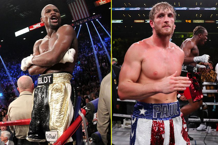 Logan Paul promises to create an upset in a fight with Mayweather