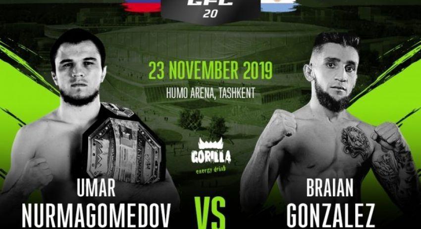 Результаты турнира GFC 20: Умар Нурмагомедов - Брайан Гонсалес