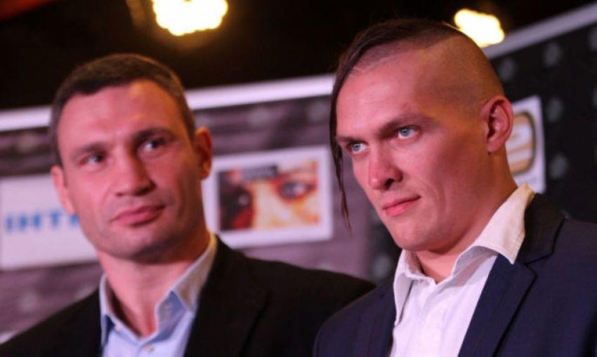 Александр Усик рассказал, как братья Кличко отреагировали на его решение создать собственную промоутерскую компанию