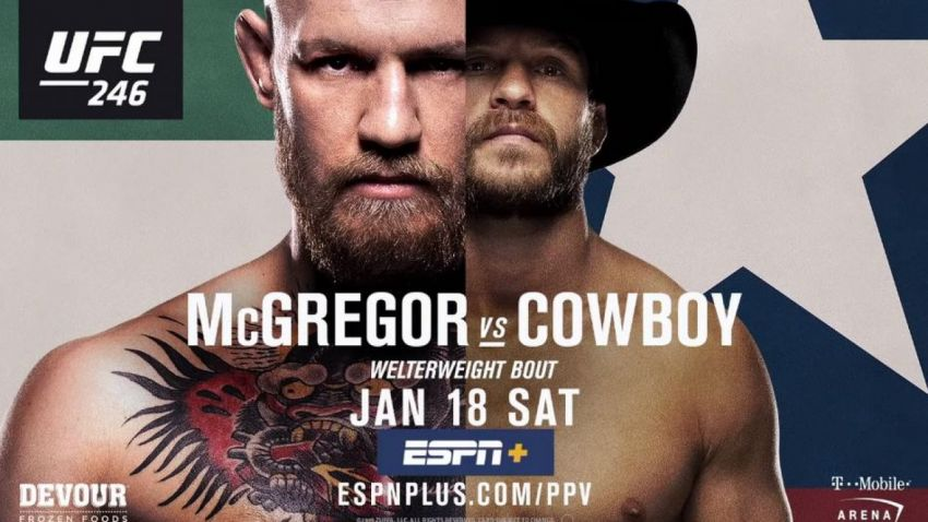 Файткард турнира UFC 246: Конор МакГрегор - Дональд Серроне