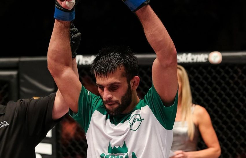 Гаджи Рабаданов победил Жоао Пауло Де Моуру, став новым чемпионом легкого веса на GFC 24
