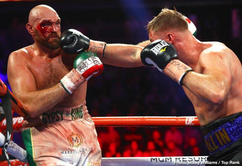 Андре Уорд считает, что Фьюри следует отложить реванш с Уайлдером из-за травмы глаза